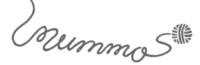 """Kuvassa piirretty logo, jossa lankakerästä purkautuva lanka muodostaa sanan """"mummo""""."""